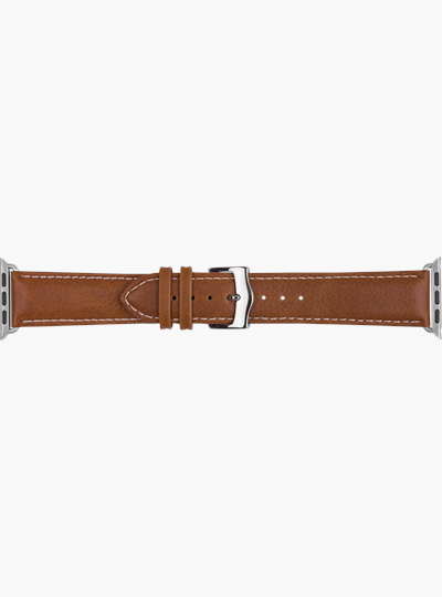 dbramante1928 Watch Strap 38/40 mm - Tan/Silver