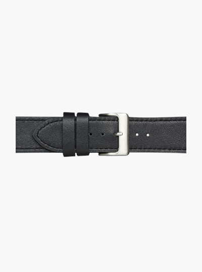 dbramante1928 Watch Strap 40mm - Black/Silver