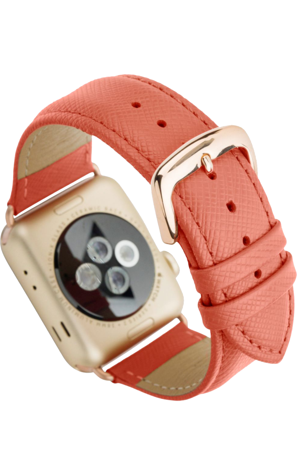 dbramante1928 Watch Strap 42/44 mm - Rusty Rose