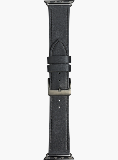 dbramante1928 Watch Strap 44mm - Black/Space Grey