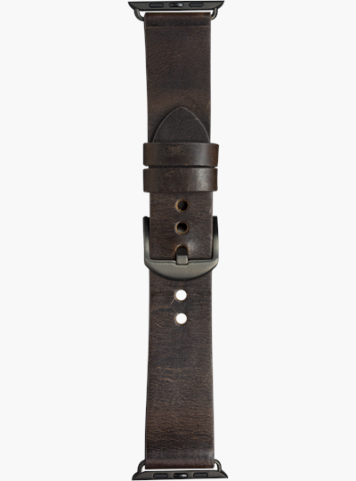 dbramante1928 Watch Strap 44mm Dark Brown