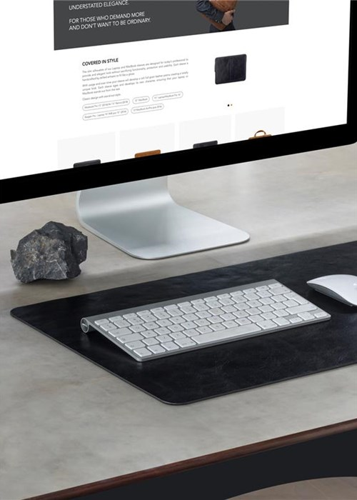dbramante1928 full-grain leather Copenhagen - Desk Mat
