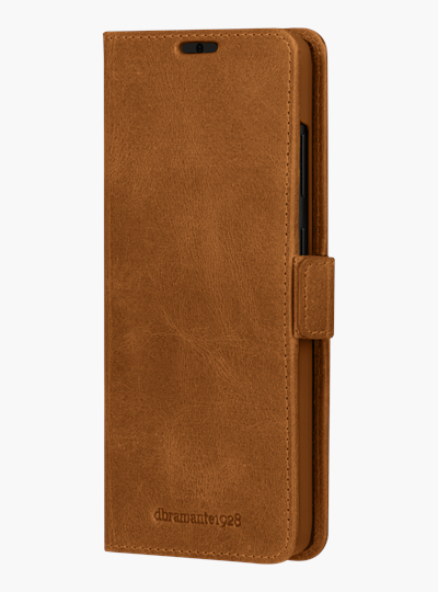 dbramante1928 full-grain leather cover Samsung S20