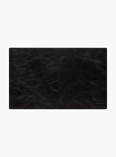 dbramante1928 full-grain leather Copenhagen - Desk Mat - Small - Black
