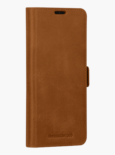 dbramante1928 full-grain leather cover Samsung S20+