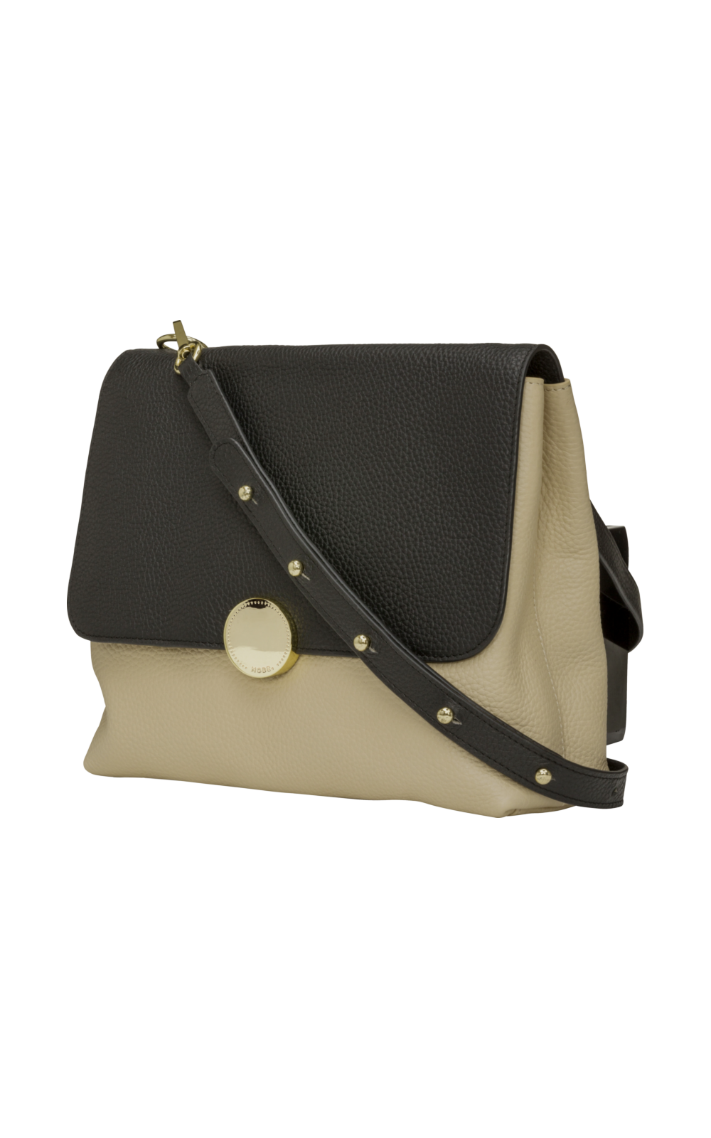 dbramante1928 Florence - Cross Body Bag - M - Night Black & Sahara Sand