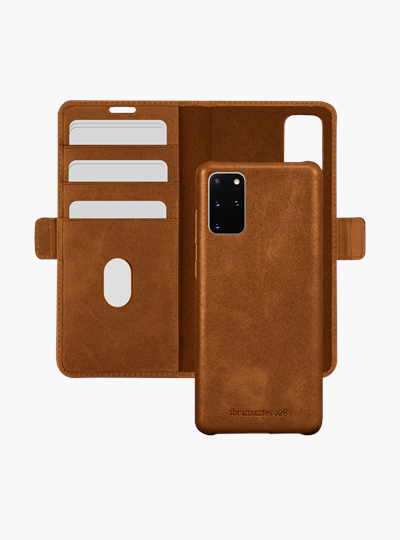 dbramante1928 full-grain leather cover Samsung S20+ Lynge