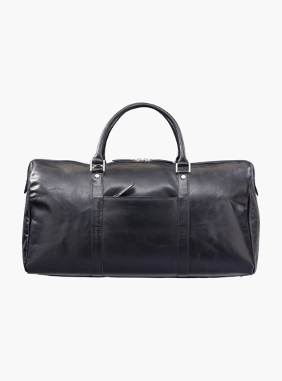 dbramante1928 leather weekender bag